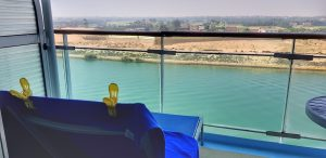Junior suite 8552 Marella Discovery Cruise Ship Suez Canal Paul and Carole