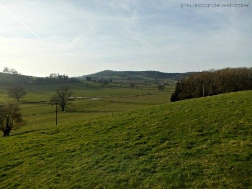 View from the property house sitting in eastnor asta