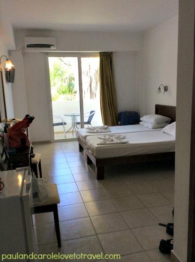 Our stay at the Castello di Rodi Hotel, Rhodes, Greece