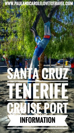 Santa Cruz cruise port review