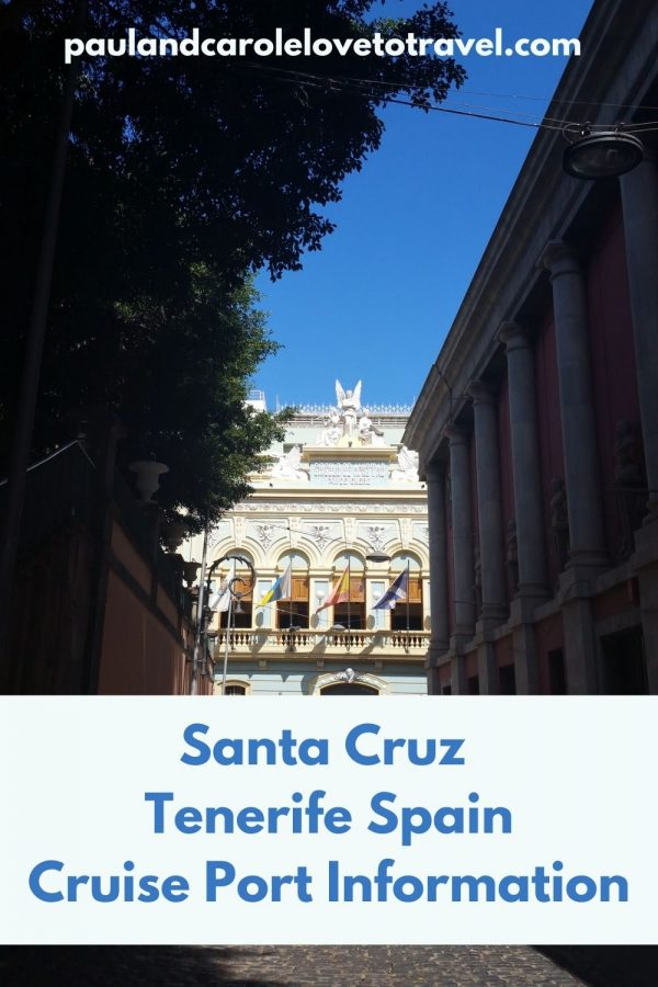 santa cruz cruise port information tenerife spain