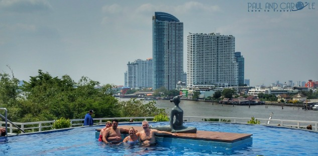 Chatrium Riverside Hotel review bangkok thailand paul and carole