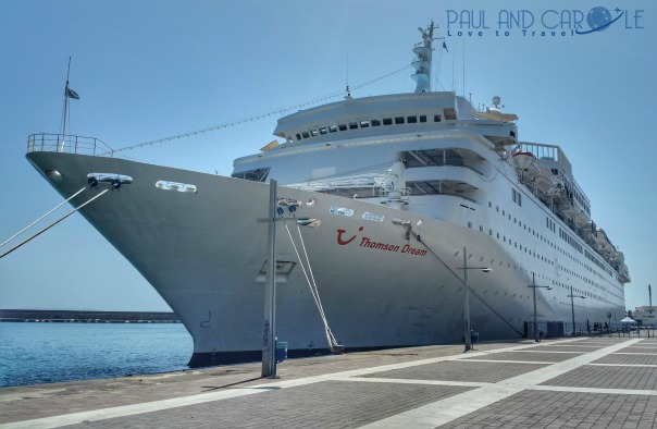 Thomson dream cruise ship paul and carole the year we went to mars 2017