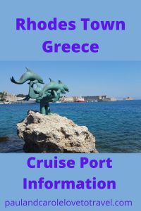 Rhodes Town Cruise Port Information Cruising to Greece #Greece #Rhodes #Cruise #Port