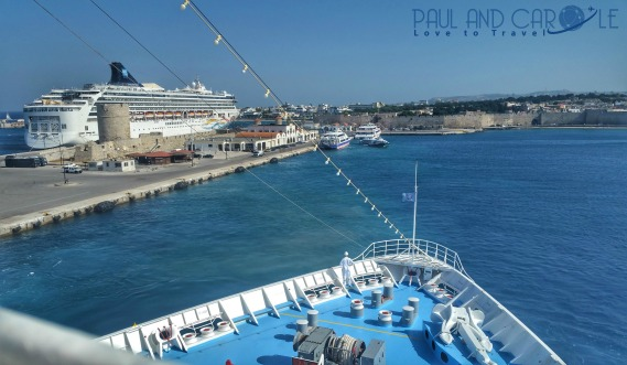 rhodes greece town old cruise port information #rhodes #old #town #greece #rodos #cruise #port #information #review #europe #cruising #cruising #tips #travel #advice