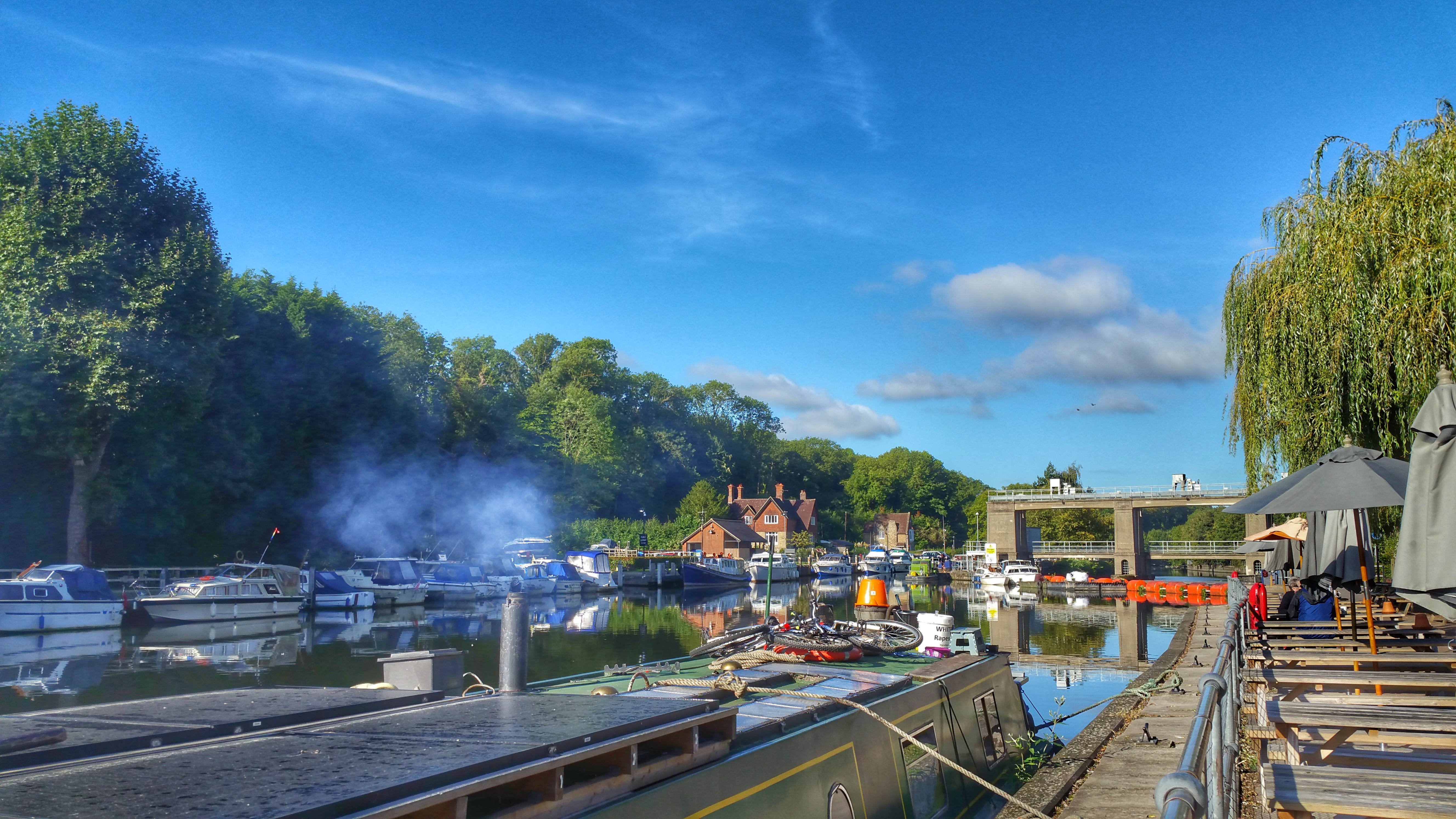 Premier Inn Sandling Maidstone Kent hotel information review canal boats river medway
