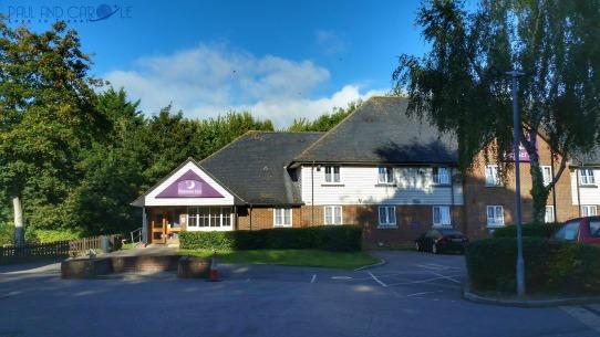 Premier Inn Sandling Hotel reviews paul carole england kent Maidstone