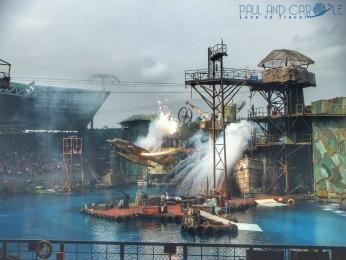 Waterworld at Universal Studios Sentosa paul and carole top travel tips singapore