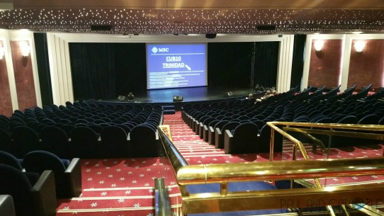 Theatre on board MSC Opera shows entertainment