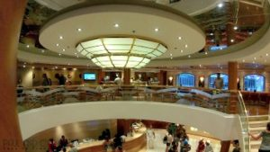 msc cruise ship aroma coffee shop reception cruising
