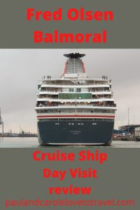 Fred Olsen Balmoral cruise ship review