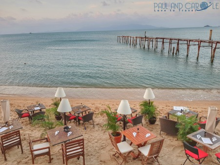 Enjoy Beach Hotel Review Fisherman's Village Koh Samui Paul and carole love travel thailand