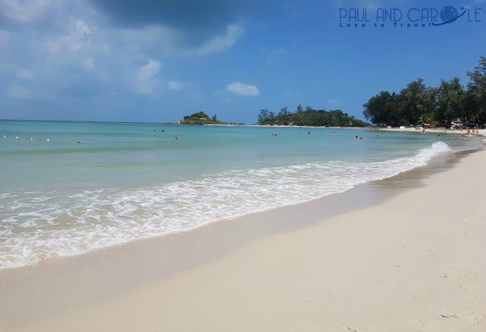 Guide to the best beautiful beaches of Koh Samui Thailand by Paul and Carole Choeng Mon Beach