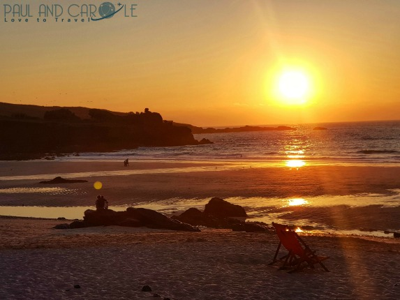 Beachside Holiday Park Hayle Cornwall Review #travel #uk #england #cornwall #hayle #camping #campsite #holiday #park#beachside #travelling #travellers #beach #review #paul #carole #st #ives #sunset #portmoer