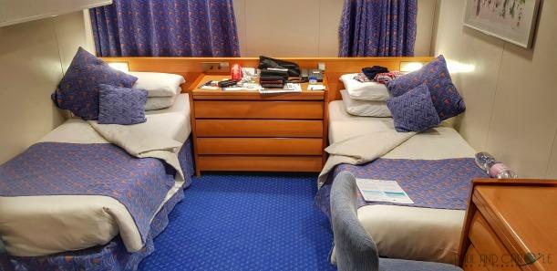 CMV Marco Polo Cruise ship superior outside cabin 623 #CMV #cruising #maritime #voyages #marcopolo #marco #polo #cruise #reviews #cabin #superior #outside #62s #amunsden #deck #promenade