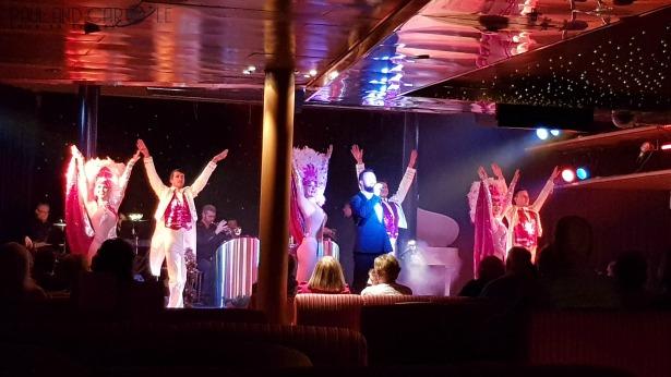 CMV Marco Polo Cruise ship show lounge Marcos #CMV #cruising #maritime #voyages #marcopolo #marcos #polo #cruise #reviews #theatre #lounge #show