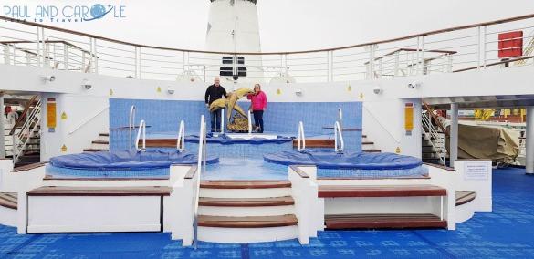 CMV Marco Polo Cruise ship aft deck jacuzzi #CMV #cruising #maritime #voyages #marcopolo #marco #polo #cruise #reviews #jacuzzi