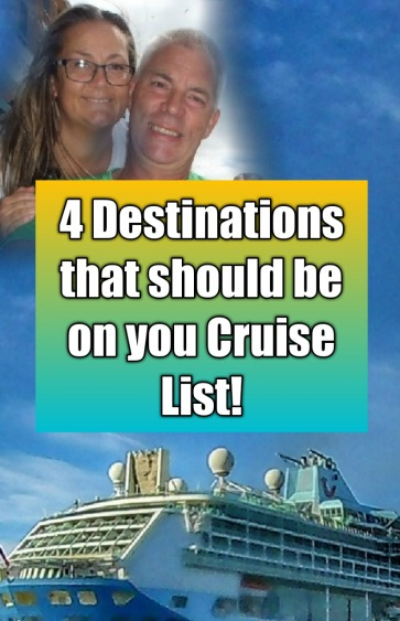 4 destination cruise you should visit in 2019 #cruise #destination #choosecruise #asia #greece #adriatic #norway #cruising #paulandcarole