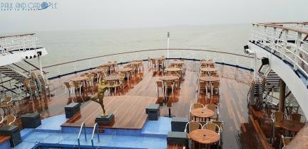 Marco Polo Cruise ship #CMV #cruising #maritime #voyages #marcopolo #marco #polo #cruise #reviews #aft #deck