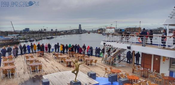 Avonmouth Marco Polo Cruise ship #CMV #cruising #maritime #voyages #marcopolo #marco #polo #cruise #reviews #dublin #saiilaway