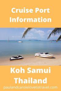 Koh Samui Cruise Port Information Thailand