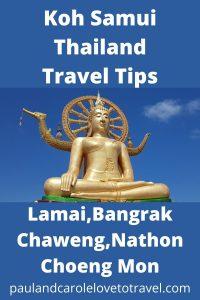 Koh Samui Thailand Travel Tips