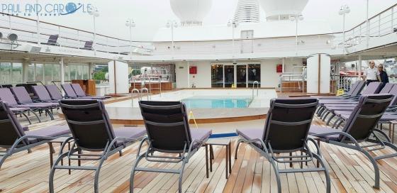 silversea cruises silver cloud cruise ship pool deck sun loungers expedition cruises #silversea #cruises #thisissilversea #expedition #cruising