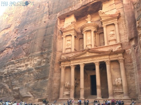 The treasury #petra #wondersoftheworld #roseredcity #jordan #visitingpetra #paulandcarole