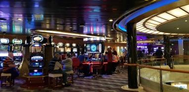 P&O Oceana Cruise Ship Monte Carlo casino #casino #ladyluck #havingaflutter #loseyourshirt #blackjack #roulette #slotmachine #oceana #paulandcarole
