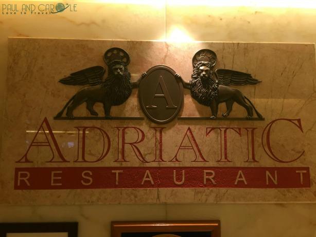P&O Oceana cruise ship Adriatic Restaurant #finedining #setdining #waiterservice #formalnights #adriatic #restaurant #oceana