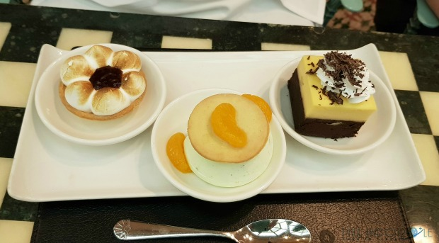 P&O Oceana Cruise Ship Cafe Jardin #specialityrestaurant #food #indulgence #dessertparadise #seafood #greatservice #desserttrios #cafejardin