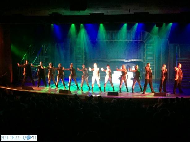 P&O Oceana Cruise Ship Footlights Theatre #productionshows #showtime #anightatthetheatre #astonishing #musicals #Footlights #Oceana