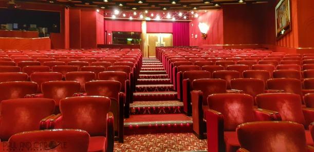 P&O Oceana Cruise Ship #Footlights Theatre #productionshows #showtime #anightatthetheatre #astonishing #musicals