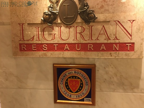 P&O Oceana Cruise Ship Ligurian restaurant #finedining #anytimedining #waiterservice #formalnights #greatfood #dinnertime