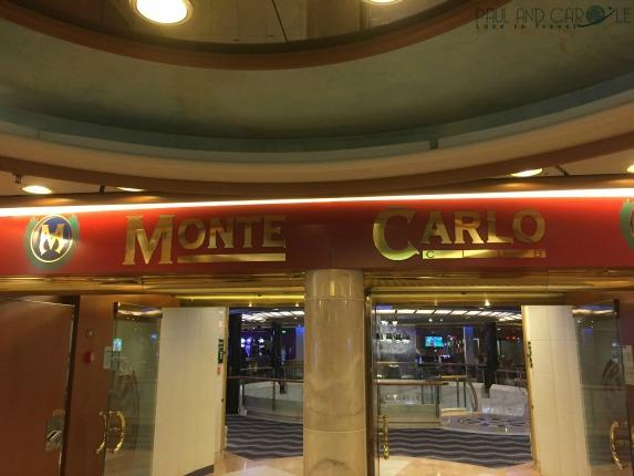 P&O Oceana Monte Carlo casino #casino #ladyluck #havingaflutter #loseyourshirt #blackjack #roulette #slotmachine #paulandcarole