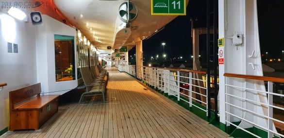 P&O Oceana Cruise Ship promenade #promenade #outsidespace #moonlightstroll #freshair #seaair #romance #oceana