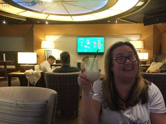 P&O Oceana Cruise ship Winners bar #sportsbar #premierleaguefootball #championsleague #paulandcarole #cruise #oceana
