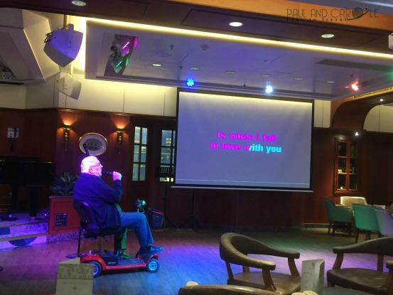 P&O Oceana Cruise Ship Yacht and compass #pub #livemusic #karaoke #quiztime #preshowdrinks #singalong