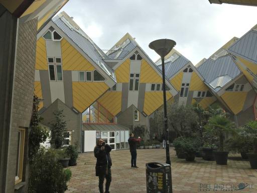Rotterdams cubus houses. #cubushouses #strangehouses #instagrammersparadise #siteseeing #rotterdamarchitecture