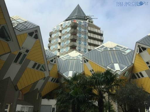 Cubus houses. #cubushouses #strangehouses #instagrammersparadise #siteseeing #rotterdamarchitecture