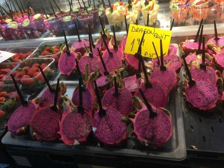Markthal in Rotterdam. #markthal #instagrammersparadise #foodheaven #lovefood #worldfood #somethingforeveyone #amazingfood #dragonfruit