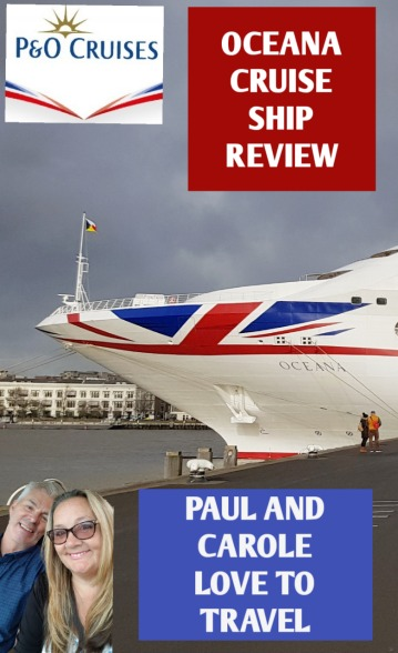 Oceana Cruise Ship Review - We spent a week on the P&O Oceana Cruise Ship cruising the English channel and north sea visiting Holland and Germany. Here is our Oceana Cruise Ship review so you can decide whether this ship would be for you.  #Oceana #Cruise #Ship #P&O #cruising #pandocruises #holidaylikeneverbefore #thisisthelife #ChooseCruise #cruise #travel #travelbloggers