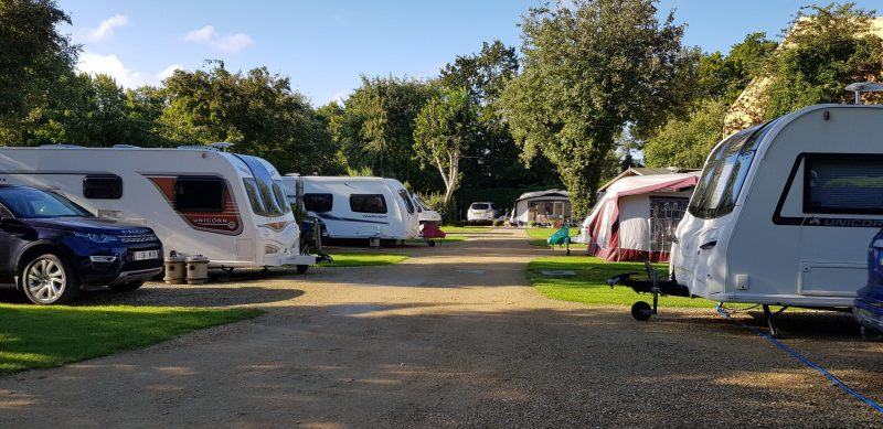 Wysdom Touring Park Campsite Burford Oxfordshire