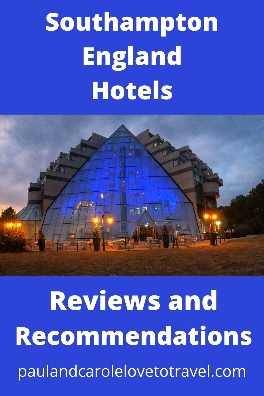 Pin Southampton England Cruise Port Hotels Reviews