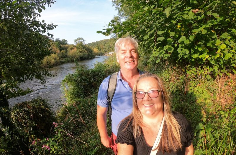 Wye Valley walk Paul and Carole
