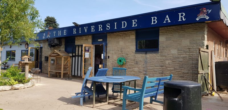 Riverside Bar Sterretts Caravan Park Symonds Yat West