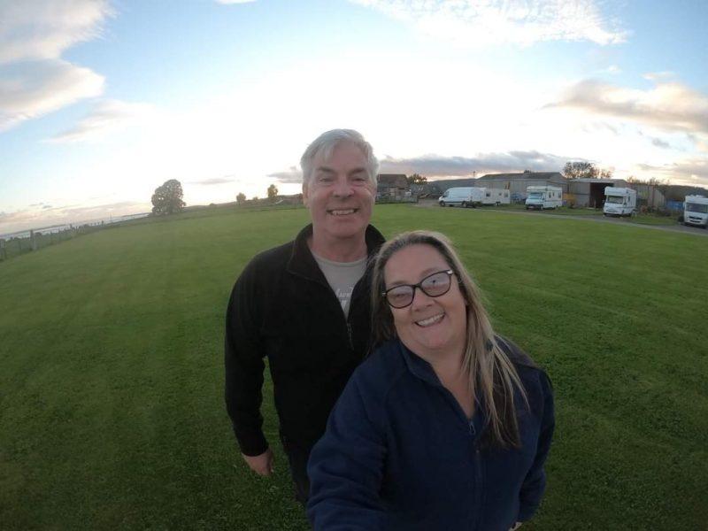 Paul and Carole Plusterwine Farm Campsite