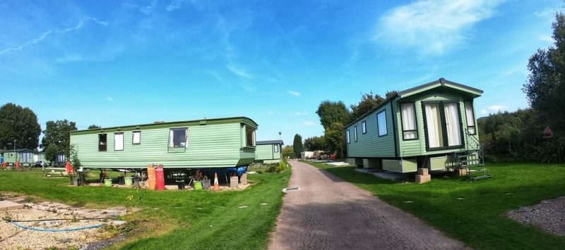 static caravans with flotation devices sterretts caravan park