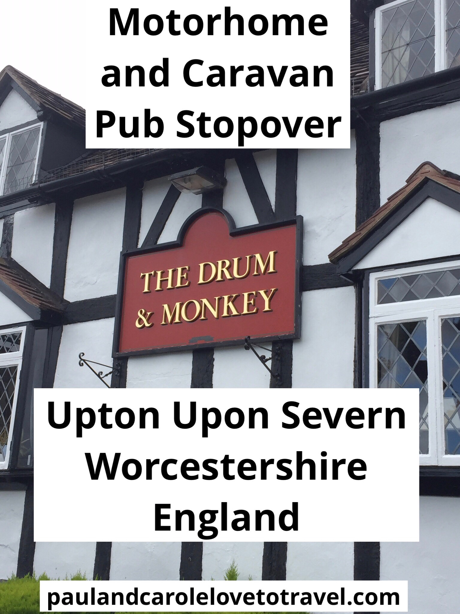 pin drum and monkey pub stopover Upton on severn