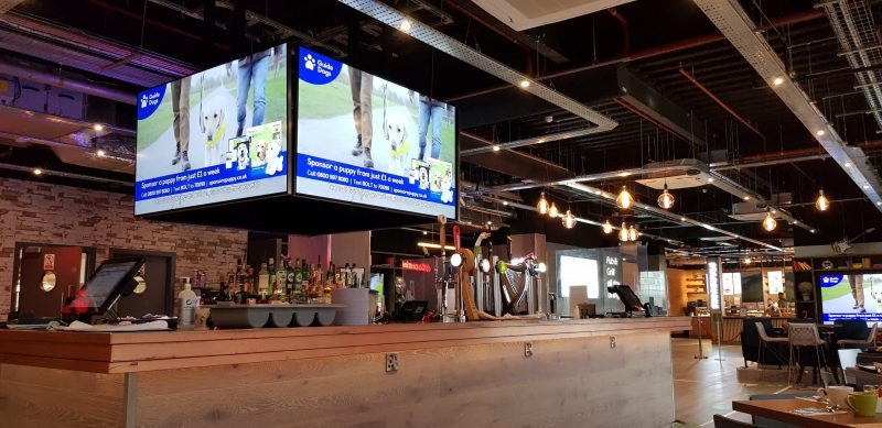 bar restaurant village hotel basingstoke